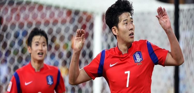 لاعبى كوريا الجنوبية