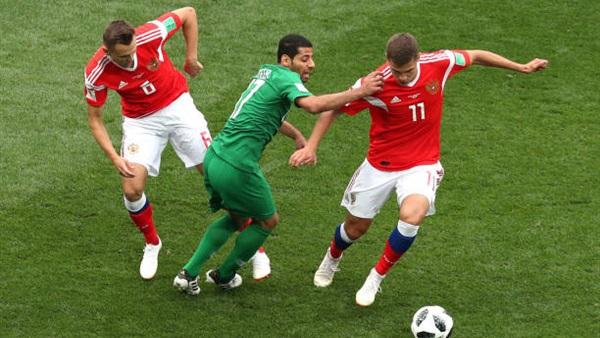 لاعبى منتخب روسيا