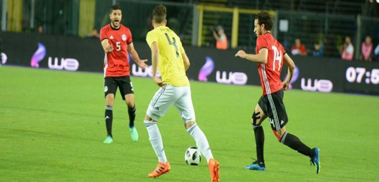 منتخب مصر ضد كولومبيا