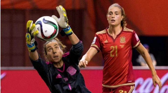 لاعبات الكرة الإسبانية