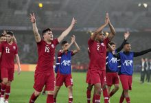 لاعبي قطر