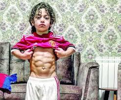 الطفل الإيراني